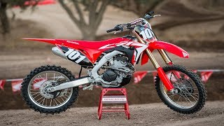 Certainly the most changed 250F for 2018, the Honda has posed a ste...
