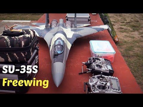 Freewing SU-35 Exhibition Flights