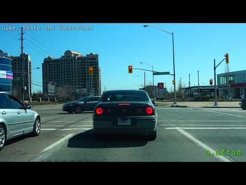[4K] 2018 Jane Street, Highway 7, Queen Street Driving from Maple to Brampton Ontario Canada