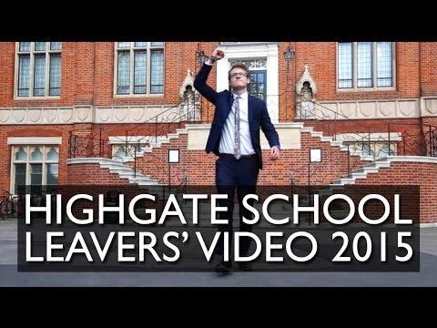 Highgate School Leavers