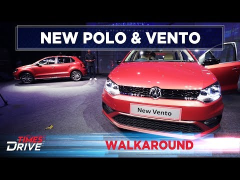 New 2019 Volkswagen Polo and Vento: What's new? | Walkaround | Times Drive