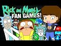 The WORST Rick and Morty BOOTLEG Fan Games ConnerTheWaffle