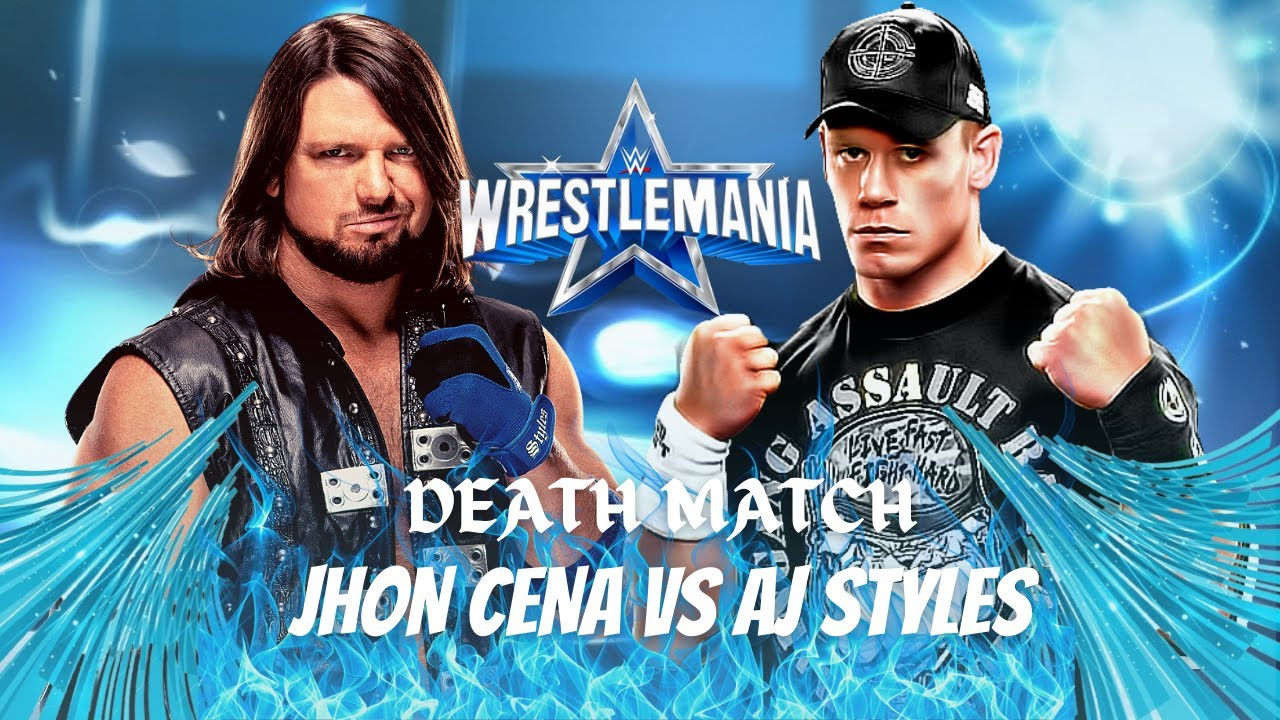 Download WWE WrestleMania 38 Custom Match Card Remake | How to make WWE WrestleMania 38 Custom Match Card