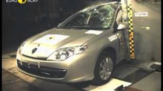 Краш тест Renault Laguna 2007 (E-NCAP)