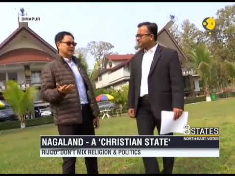 """""""Don't mix religion and politics""""says, Kiren Rijiju in an exclusive interview with WION"""