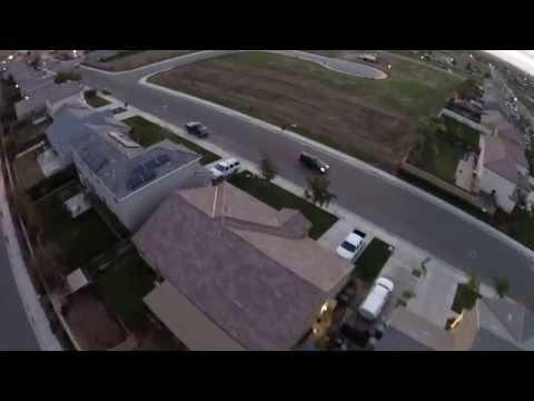 Aerial Trip Around Arvin, CA
