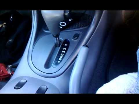 Ef Falcon Chrome Handbrake button