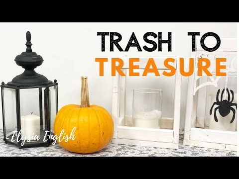 Trash To Treasure | Upcycled Project | Dump Haul | Home Decor DIY | Light them up