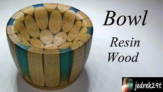 Bowl of Resin and Wood/Miska z Å»ywicy i Drewna
