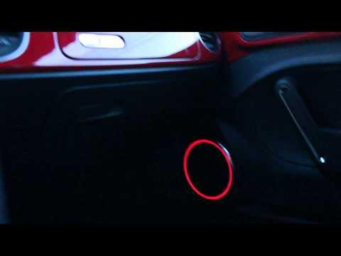 2012 Volkswagen Beetle 2.5 Highline Interior - Ambient Colour-Changable Speaker Lighting
