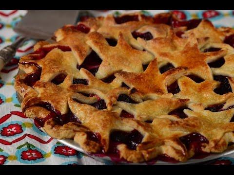Berry Pie Recipe Demonstration - Joyofbaking.com