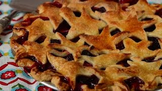 Berry Pie Recipe Demonstration - Joyofbaking.com