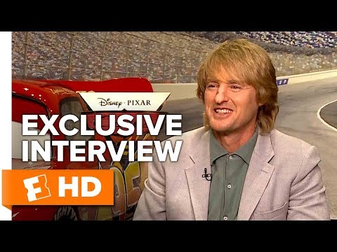 Owen Wilson Gives Us a Ka-chow and a Wow! - Cars 3 (2017) Interview | All Access