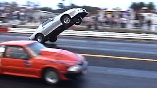 INSANE Drag Race WHEELSTANDS!!! Non Stop Action