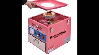 Electric Cotton Costway Candy Machine Floss Maker Commercial Carnival Party Pink Slideshow
