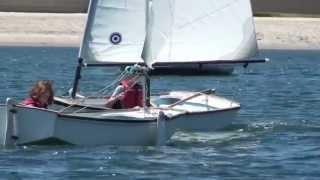 Blake Sailing at Mission Bay