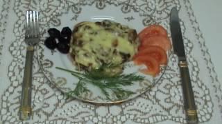Мясо по-купечески с грибами (Кухня народов мира: простые кулинарные рецепты)