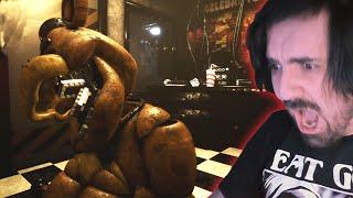 GOLDEN FREDDY Me ATACA De La PEOR MANERA *SECRETO* | Creepy Nights at Freddys FNAF 1 REMASTERIZADO