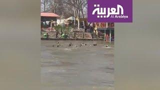 ارتفاع ضحايا العبارة العراقية إلى 100 غريق .. فيديو مؤثر