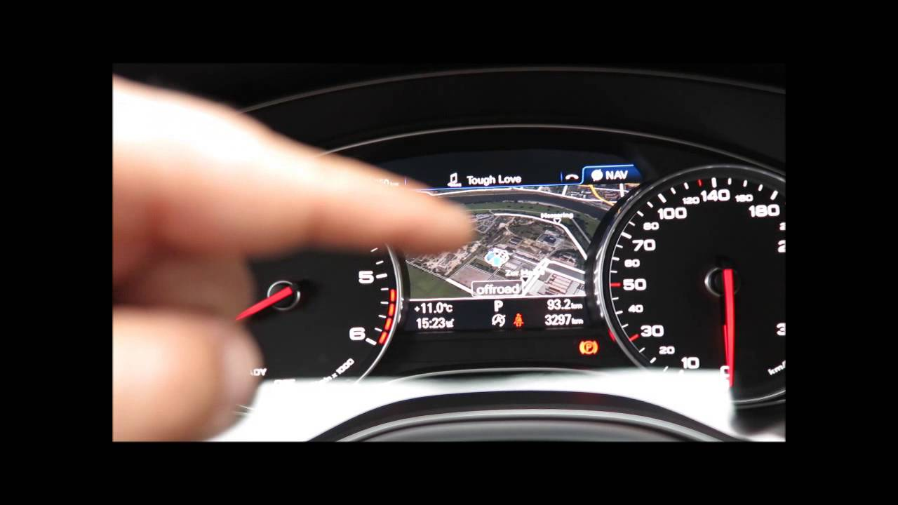 Audi A6 Fis System Bordcomputer Facelift 2014 Youtube
