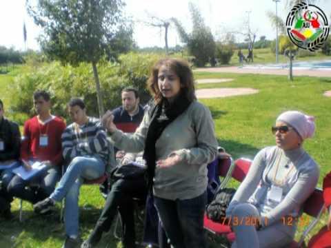 Rencontre entre jeunes marocains