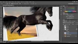 Réaliser une photo hors-cadre PS