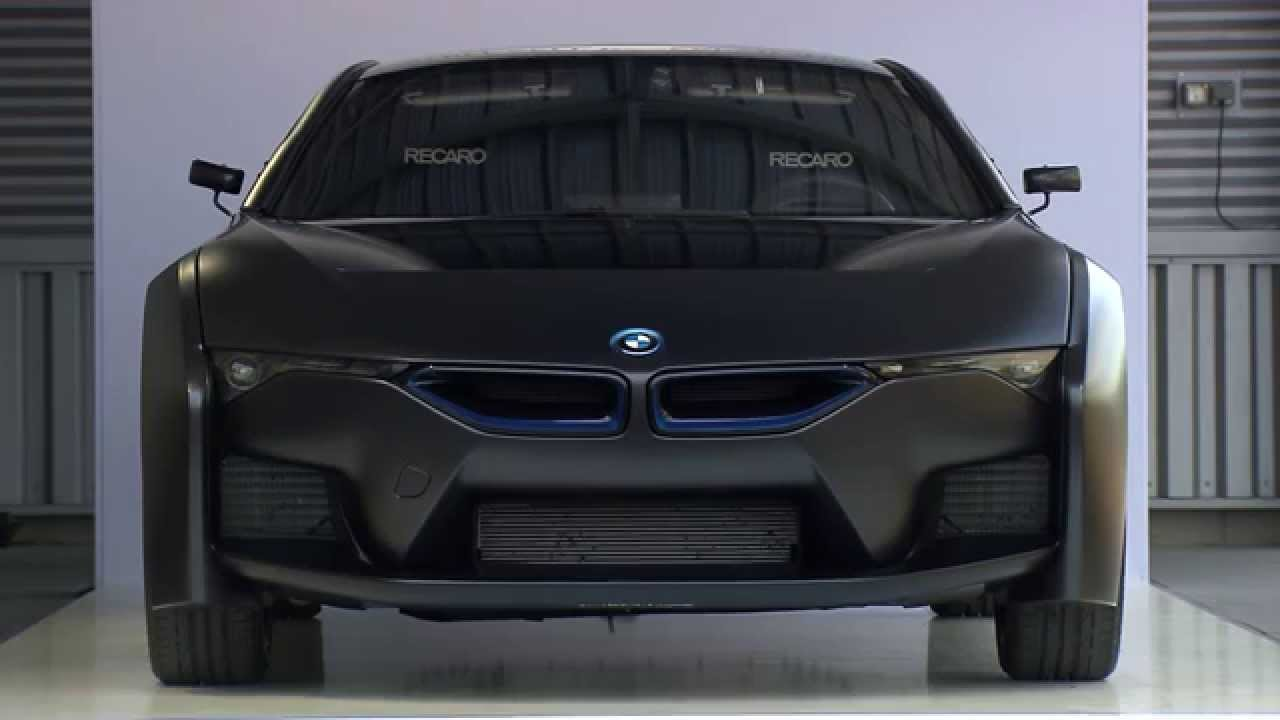 Bmw Hydrogen Fuel Cell Electric Vehicle Concept Based On Bmw I8