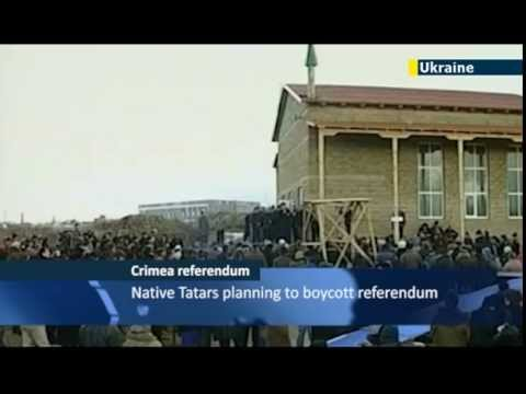 Join Russia only option on Crimea ballot / Crimean Tatars / JN1 08/03/2014 08 March 2014