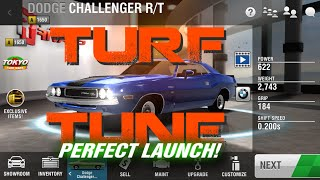 racing rivals turf tune 1650 dodge challenger r t perfect launch tutorial
