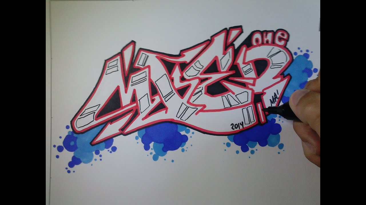 graffitis en