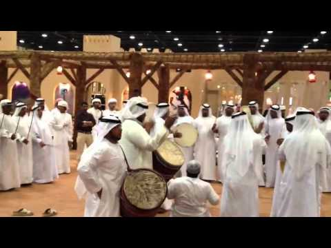 UAE Traditional song at ADIHEX 2012