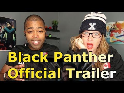 Marvel Studios' Black Panther - Official Trailer (REACTIONS 🔥)