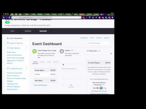 Eventbrite and Wordpress Event Integration
