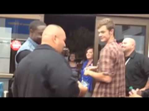 DVD Midnight Release Footage with Jack Quaid and Dayo Okeniyi