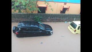 Gambar cover Heavy Rain Triggers Waterlogging in Smart City Bhubaneswar   OdishaLIVE