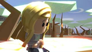 ROBLOX SAD STORY Blonde Hair Girl -Animation
