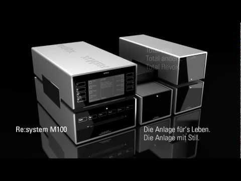 Konzept des Revox Re:system M100