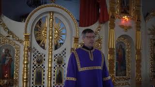 Проповедь катехизатора Олега Татарникова на Евангелие от Луки гл 24 с 36 по 53 стих