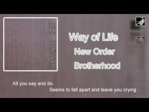 Way of Life with lyrics