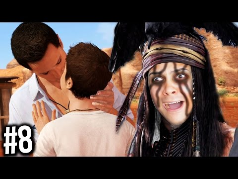 JODIE IS NOW KISSING JAY?!? FIGHTING THE INDIAN CURSE! (Beyond Two Souls PS4) #8