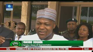 News Across Nigeria: President Buhari Meets With Saraki, Dogara