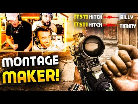 10 Minutes Of HITCH Making MONTAGE PLAYS!! HE'S *INSANE*