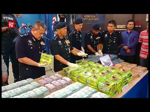 Police arrest six, seize RM5.6mil worth of syabu