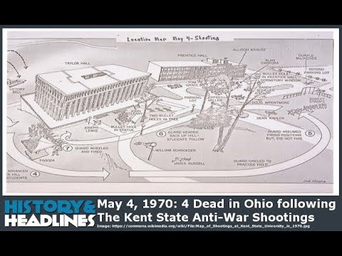 May 4, 1970: 4 Dead In Ohio Following Kent State Shootings