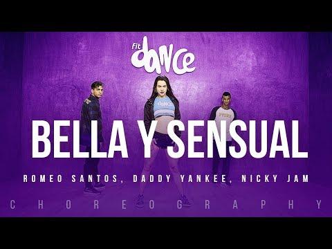 Bella y Sensual - Romeo Santos Daddy Yankee Nicky Jam  FitDance Life Coreografía Dance