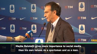 Did Bresica owner Massimo Cellino make an inappropriate comment about Balotelli?