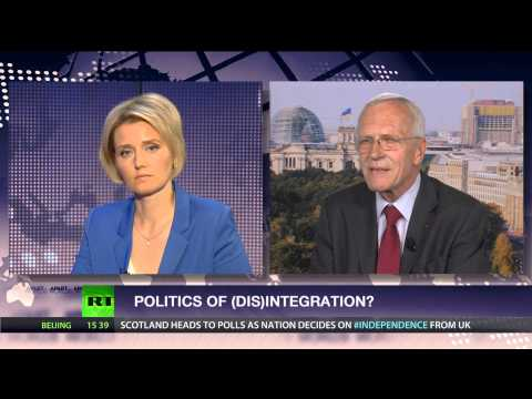 Politics of (Dis)Integration? (ft. ex German Amb to NATO Joachim Bitterlich)