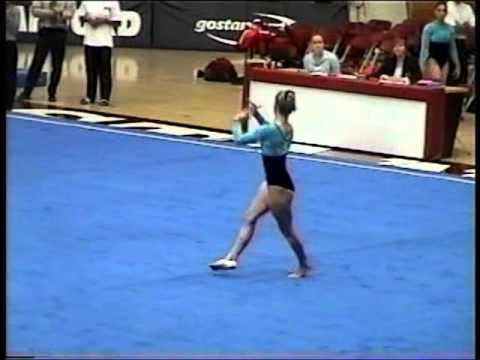Kristin Parker - 2001 UCLA @ Stanford Floor Exercise