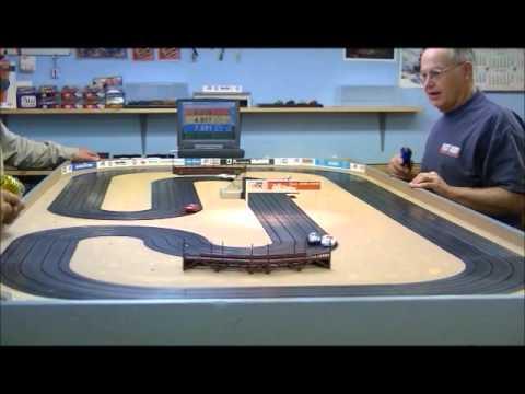 HO Slot Car Racing At Scott's Aurora Raceway