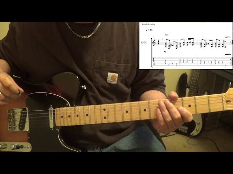 Blackberry Smoke - Restless - Guitar Lesson with Tabs